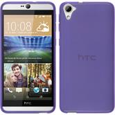 Silicone Case for HTC Desire 826 transparent purple