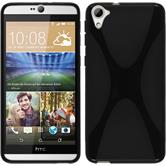 Silicone Case for HTC Desire 826 X-Style black