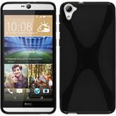 Silicone Case for HTC Desire 826 X-Style black