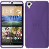 Silicone Case for HTC Desire 826 X-Style purple