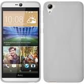 Silicone Case for HTC Desire 826 X-Style white