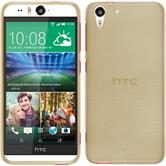 Silicone Case for HTC Desire Eye brushed gold