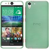 Silicone Case for HTC Desire Eye brushed green