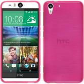 Silicone Case for HTC Desire Eye brushed pink