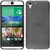 Silicone Case for HTC Desire Eye brushed silver