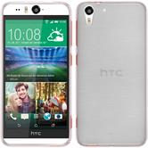 Silicone Case for HTC Desire Eye brushed white