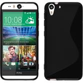 Silicone Case for HTC Desire Eye S-Style black
