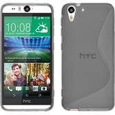 Silicone Case for HTC Desire Eye S-Style gray