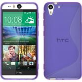 Silicone Case for HTC Desire Eye S-Style purple