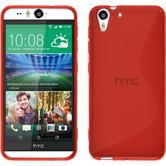 Silicone Case for HTC Desire Eye S-Style red