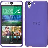 Silicone Case for HTC Desire Eye transparent purple