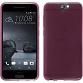 Silicone Case for HTC One A9 transparent pink