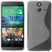 Silicone Case for HTC One E8 S-Style transparent