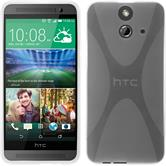 Silicone Case for HTC One E8 X-Style transparent