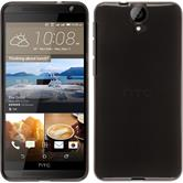 Silicone Case for HTC One E9+ transparent black