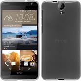 Silicone Case for HTC One E9+ transparent white