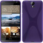 Silicone Case for HTC One E9+ X-Style purple