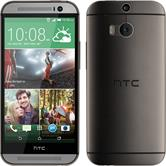 Silicone Case for HTC One M8 Slimcase gray