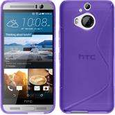 Silicone Case for HTC One M9 Plus S-Style purple