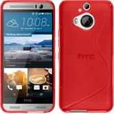 Silicone Case for HTC One M9 Plus S-Style red