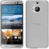 Silicone Case for HTC One M9 Plus transparent white