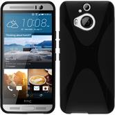 Silicone Case for HTC One M9 Plus X-Style black