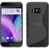 Silicone Case for HTC One M9 S-Style gray
