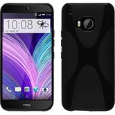 Silicone Case for HTC One M9 X-Style black