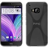 Silicone Case for HTC One M9 X-Style gray