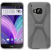 Silicone Case for HTC One M9 X-Style transparent