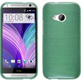 Silicone Case for HTC One Mini 2 brushed green