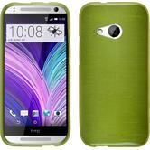 Silicone Case for HTC One Mini 2 brushed pastel green