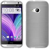 Silicone Case for HTC One Mini 2 brushed white