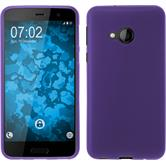 Silicone Case U Play matt purple + protective foils
