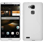 Silicone Case for Huawei Ascend Mate 7 S-Style white