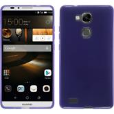 Silicone Case for Huawei Ascend Mate 7 transparent purple