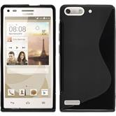 Silicone Case for Huawei Ascend P7 Mini S-Style black
