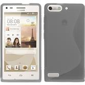 Silicone Case for Huawei Ascend P7 Mini S-Style gray