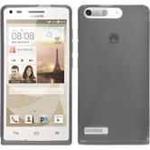 Silicone Case for Huawei Ascend P7 Mini X-Style gray
