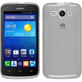 Silicone Case for Huawei Ascend Y520 transparent white
