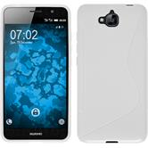 Silicone Case for Huawei Enjoy 5 S-Style white