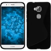 Silicone Case for Huawei G8 S-Style black