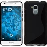 Silicone Case for Huawei Honor 5C S-Style black