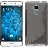 Silicone Case for Huawei Honor 5C S-Style gray