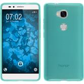 Silicone Case for Huawei Honor 5X transparent turquoise