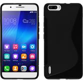 Silicone Case for Huawei Honor 6 Plus S-Style black