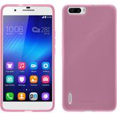 Silicone Case for Huawei Honor 6 Plus transparent pink