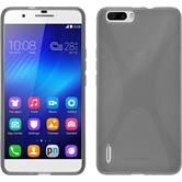 Silicone Case for Huawei Honor 6 Plus X-Style gray
