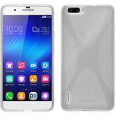Silicone Case for Huawei Honor 6 Plus X-Style transparent