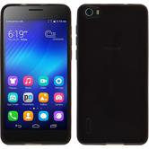 Silicone Case for Huawei Honor 6 transparent black